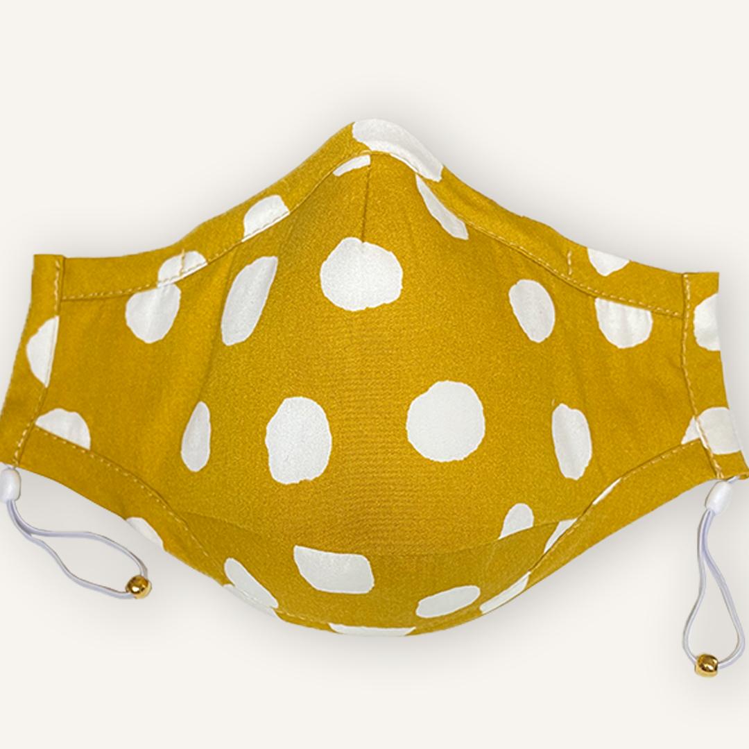 Mustard Soft Dots